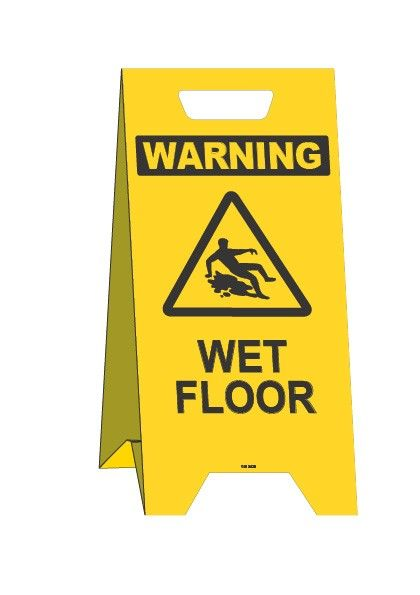 A Frame Wet Floor Sign Wet Floor Signs Warning Signs Signs