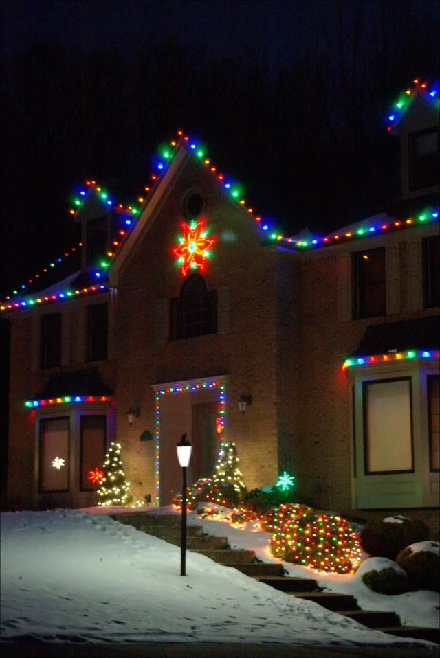 70 Christmas Light Ideas For Decorating Your Home Led