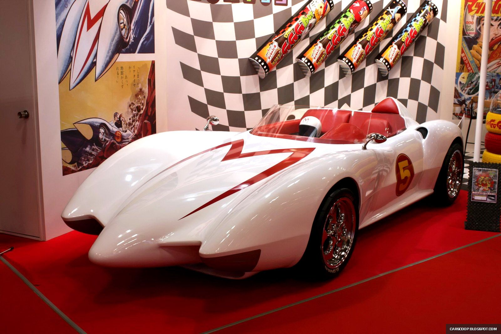 Speed racer mach 5 cartoon