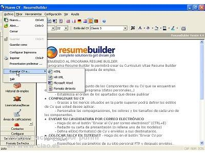 opiniones negocios finanzas sarmsoft resume builder quot hacer automated creation and distribution
