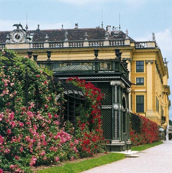 Schloss Schonbrunn Rosengarten Wien Bilder Und Texte Im Austria Forum Schloss Schonbrunn Rosengarten Wien