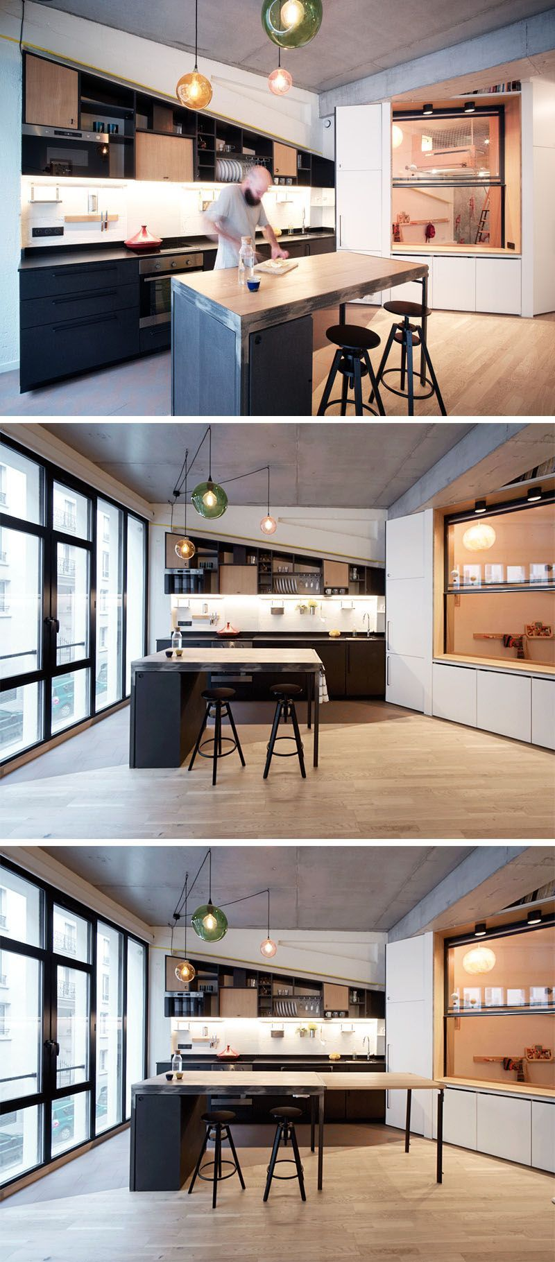 This Apartment For A Family Of Four Includes A Variety Of Creative