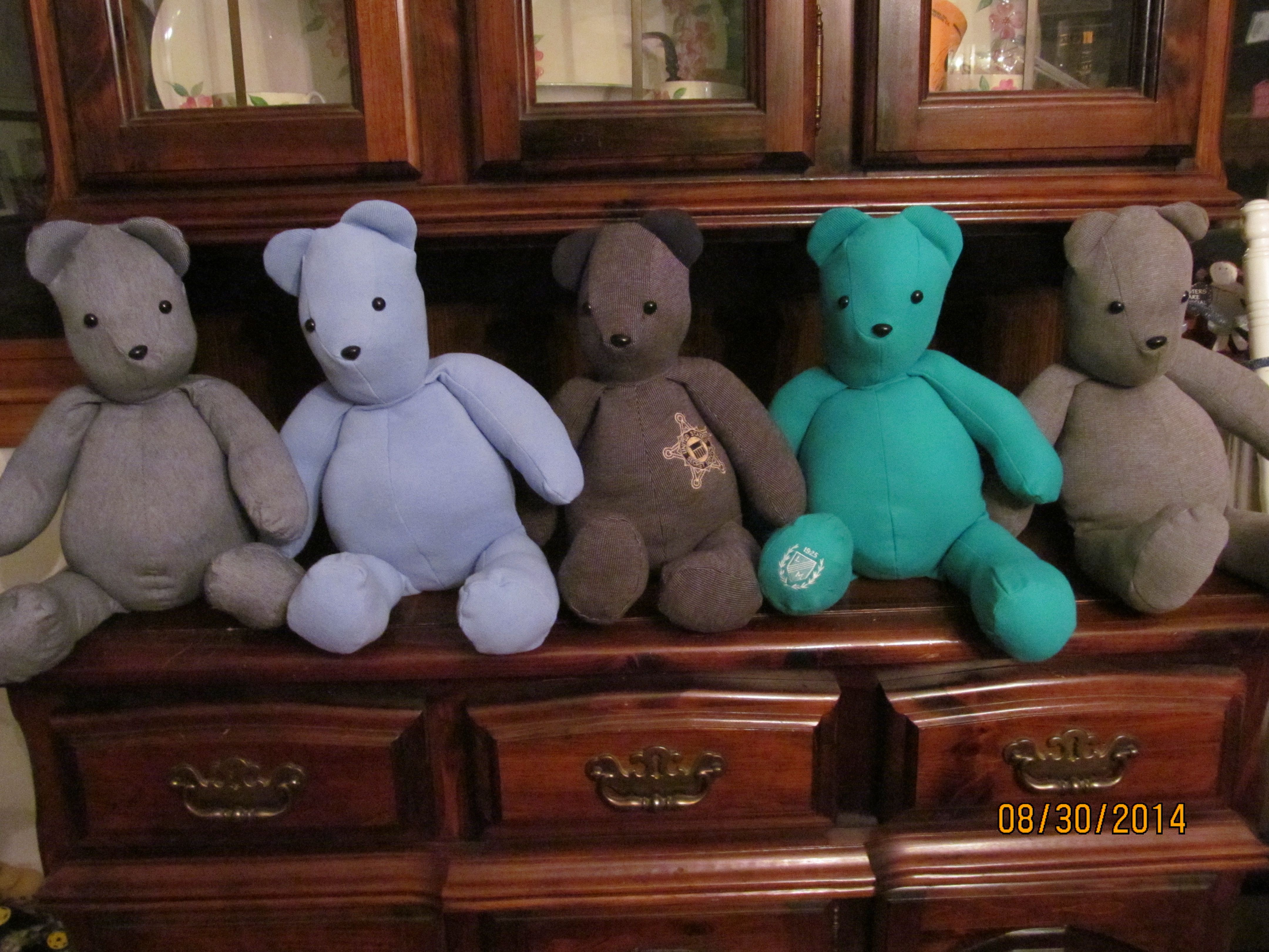 5 Finished Bears When You Want More Than A Memory To Hold