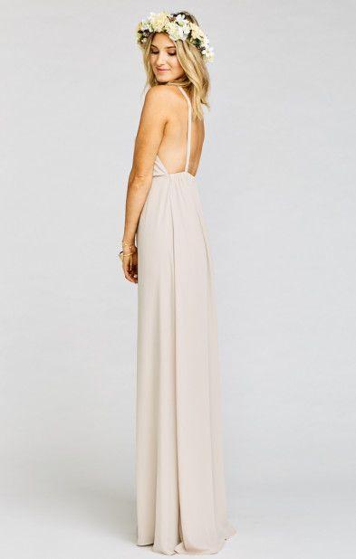 Amanda Maxi Dress Show Me The Ring Crisp M J Wedding