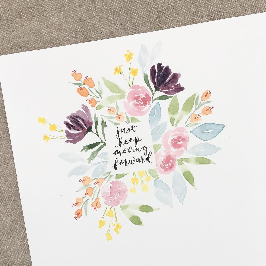 When You Do A Fancy Flower Border For Your Characterlettering