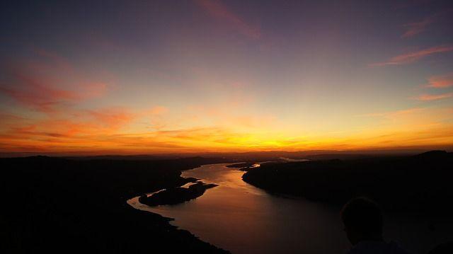 Free Image On Pixabay Sunset River Scenery Landscape Summer Landscape Scenery Landscape