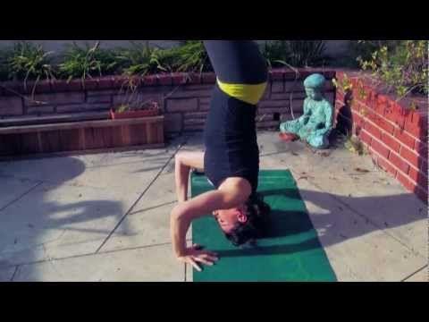 how to do crow pose  advanced headstand bakasana