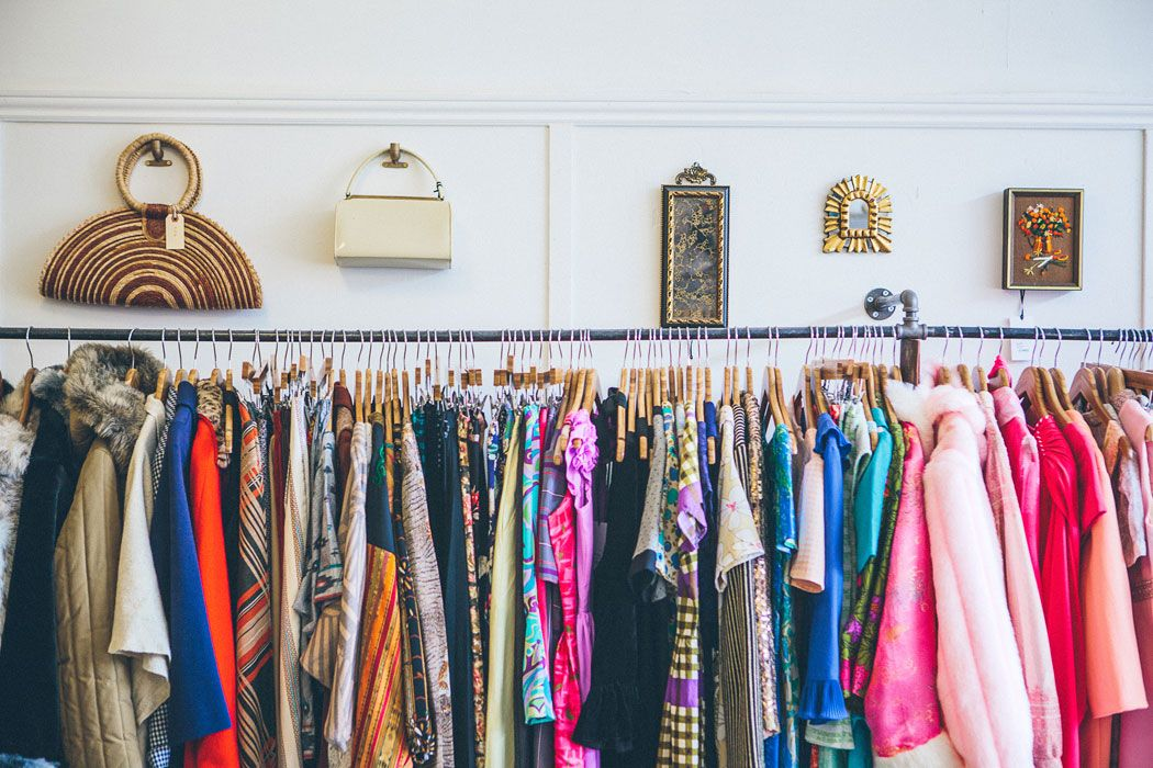 Wallflower is a vintage boutique in San Francisco\'s Mission District ...