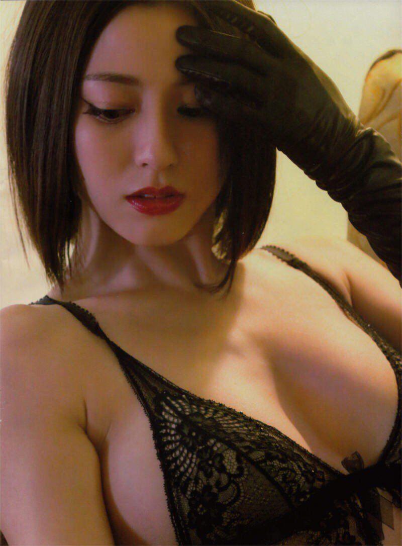 杉本有美 Yumi Sugimoto 黒手袋 Pinterest