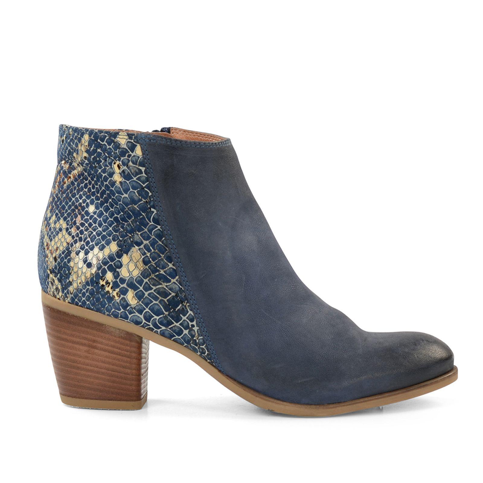 Manfield Chaussures Foncées Avec Talon Bloc Pour Les Femmes oR3Rmf7ddN
