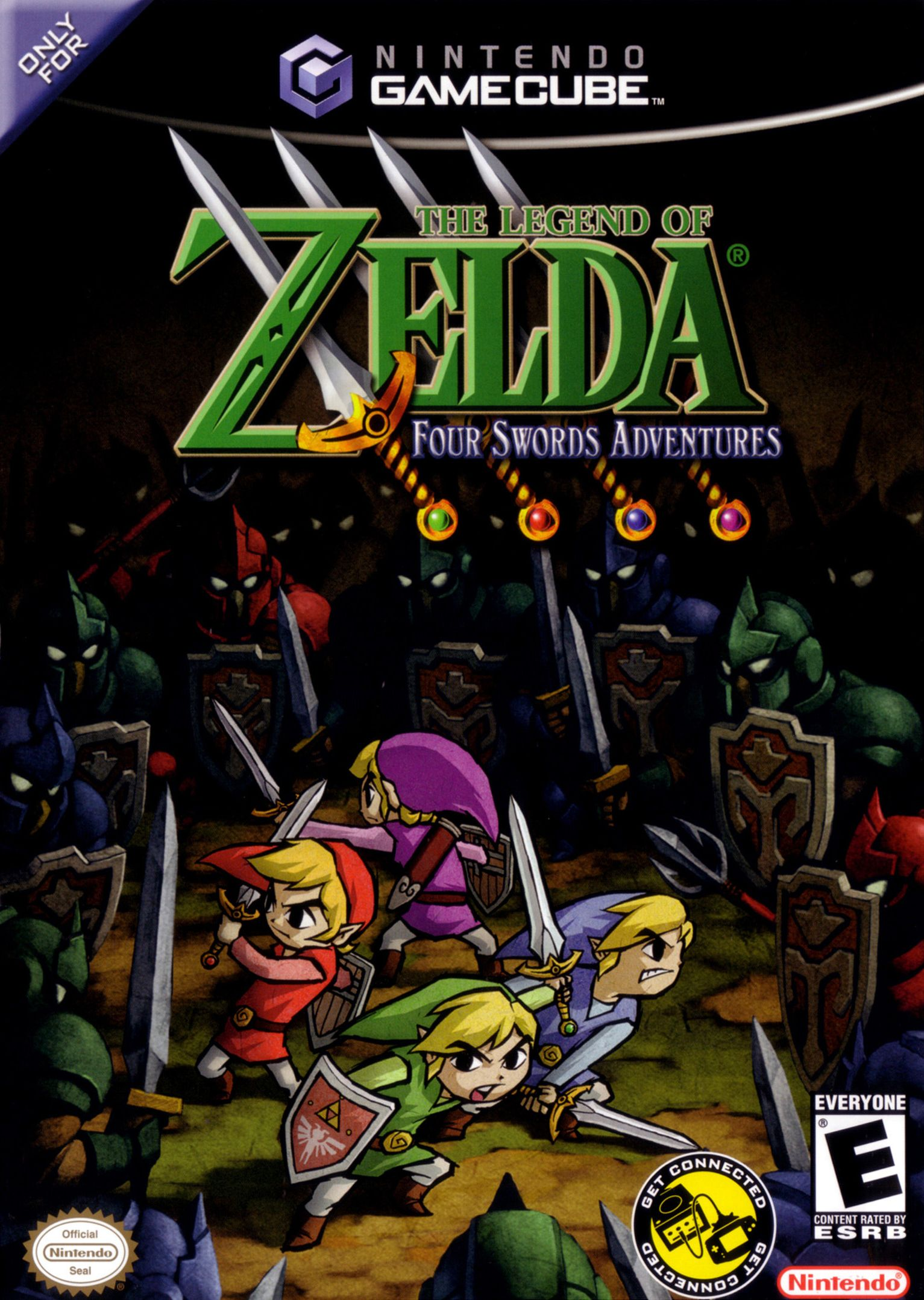 The Legend Of Zelda Four Swords Adventures Nintendo Gamecube