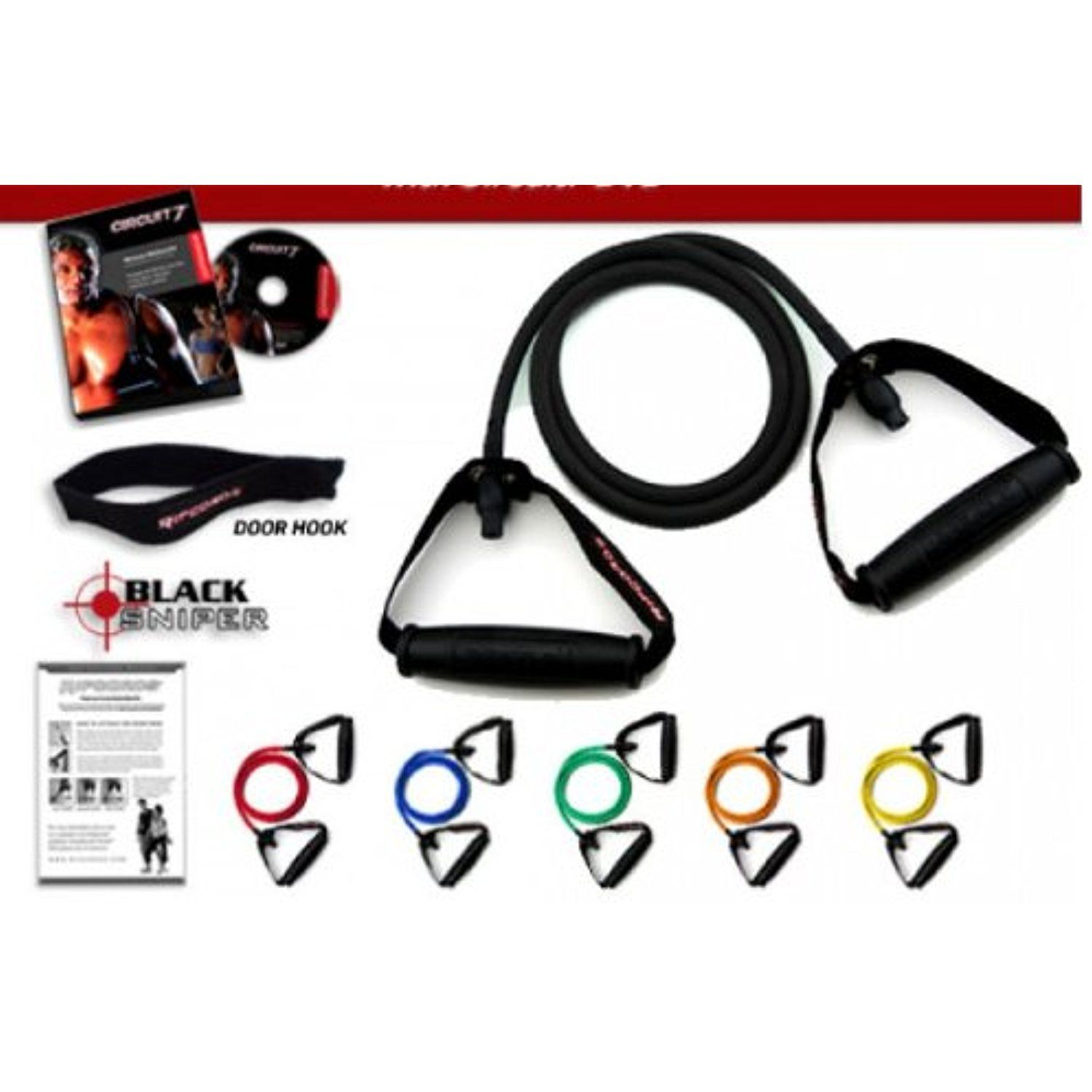Ripcords Resistance Exercise Bands Versatility Anchor