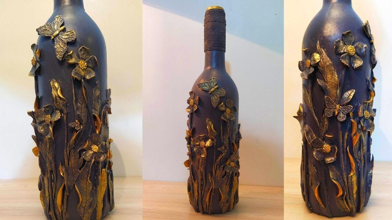 Photo of Easy Glass Bottle Art