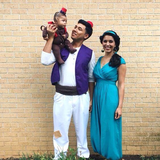 Amazing family Aladdin Cosplay Dress up! Pinterest Aladdin