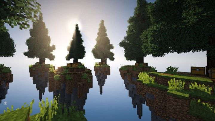 Free Skywars Map Spruce Forest Minecraft Project Minecraft Minecraft Architecture Forest Map