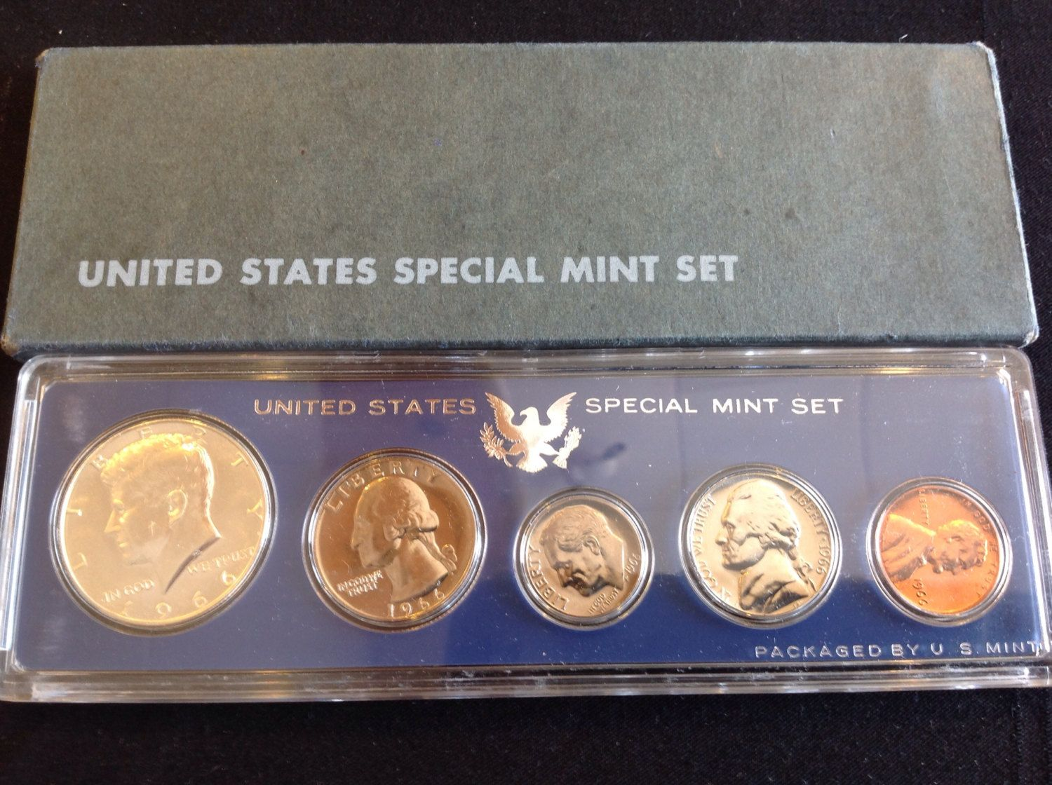 1966 United States Special Mint Set ( 1966 SMS Set ) by SaonysCollectables on Etsy
