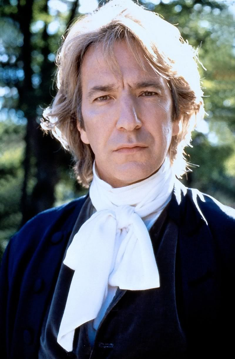 Alan Rickman - he could read a phone book and I'd be mesmerized.