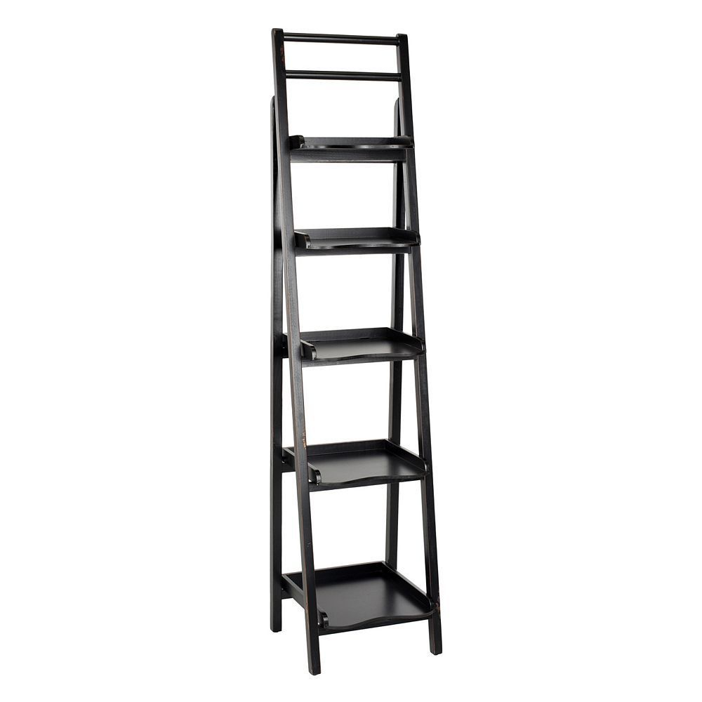 Safavieh asher etagere shelf tower brown products