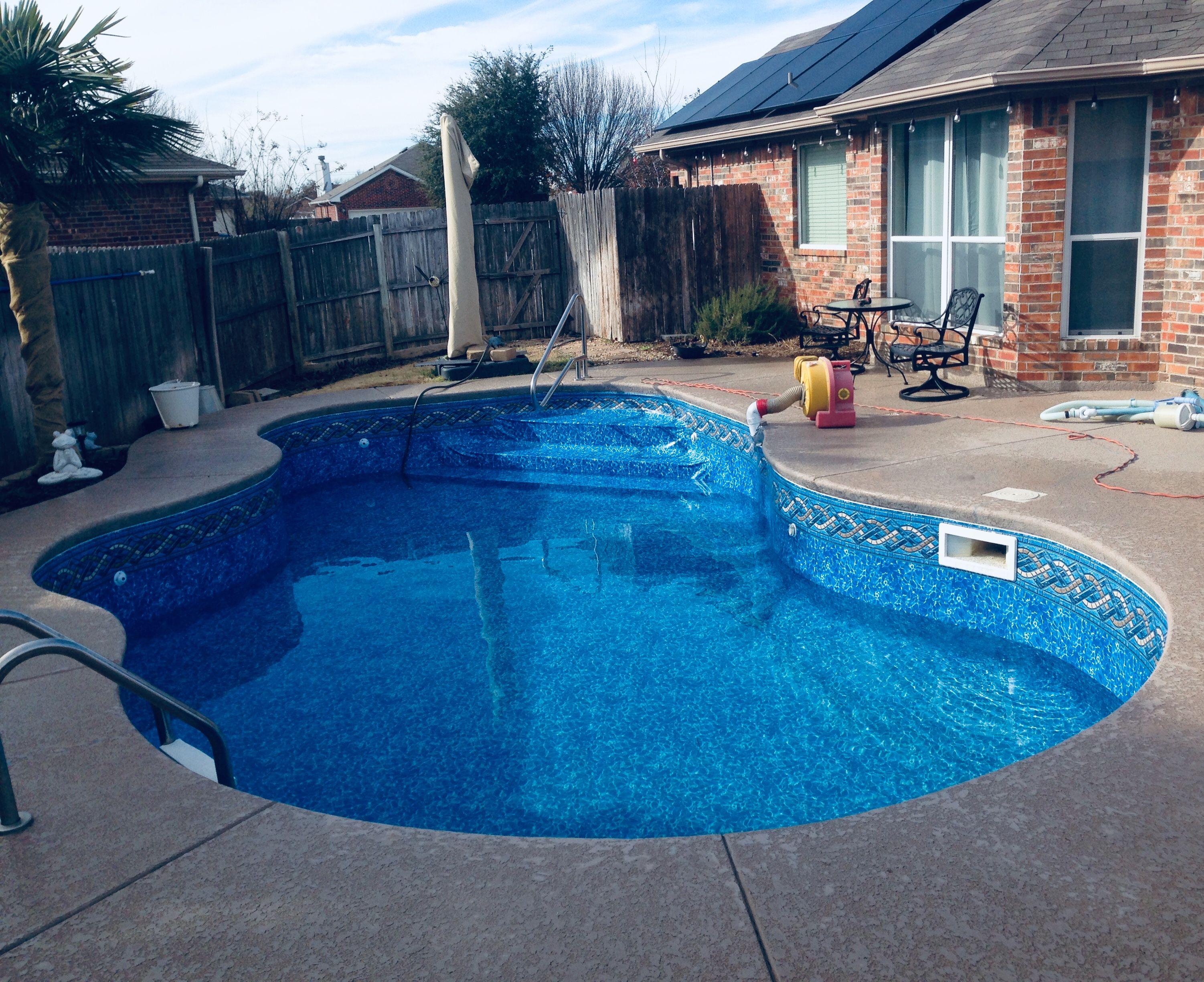 Vinyl Liner Replacement Crowley Tx Dfw Vinyl Pools Pool Liners Pool Liner Replacement Pool