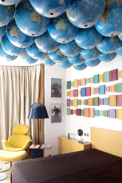 Decorar techos con globos terr queos decoraci n hogar for Decoracion para techos