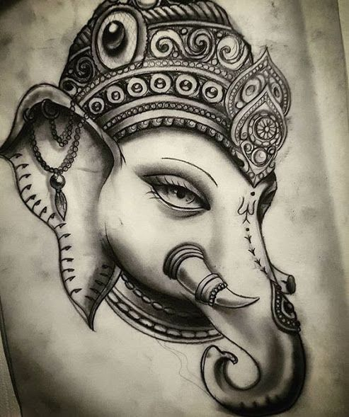 Tattoo Designs Ganesh: 50 Beautiful Ganesha Tattoos Designs And Ideas With Meaning