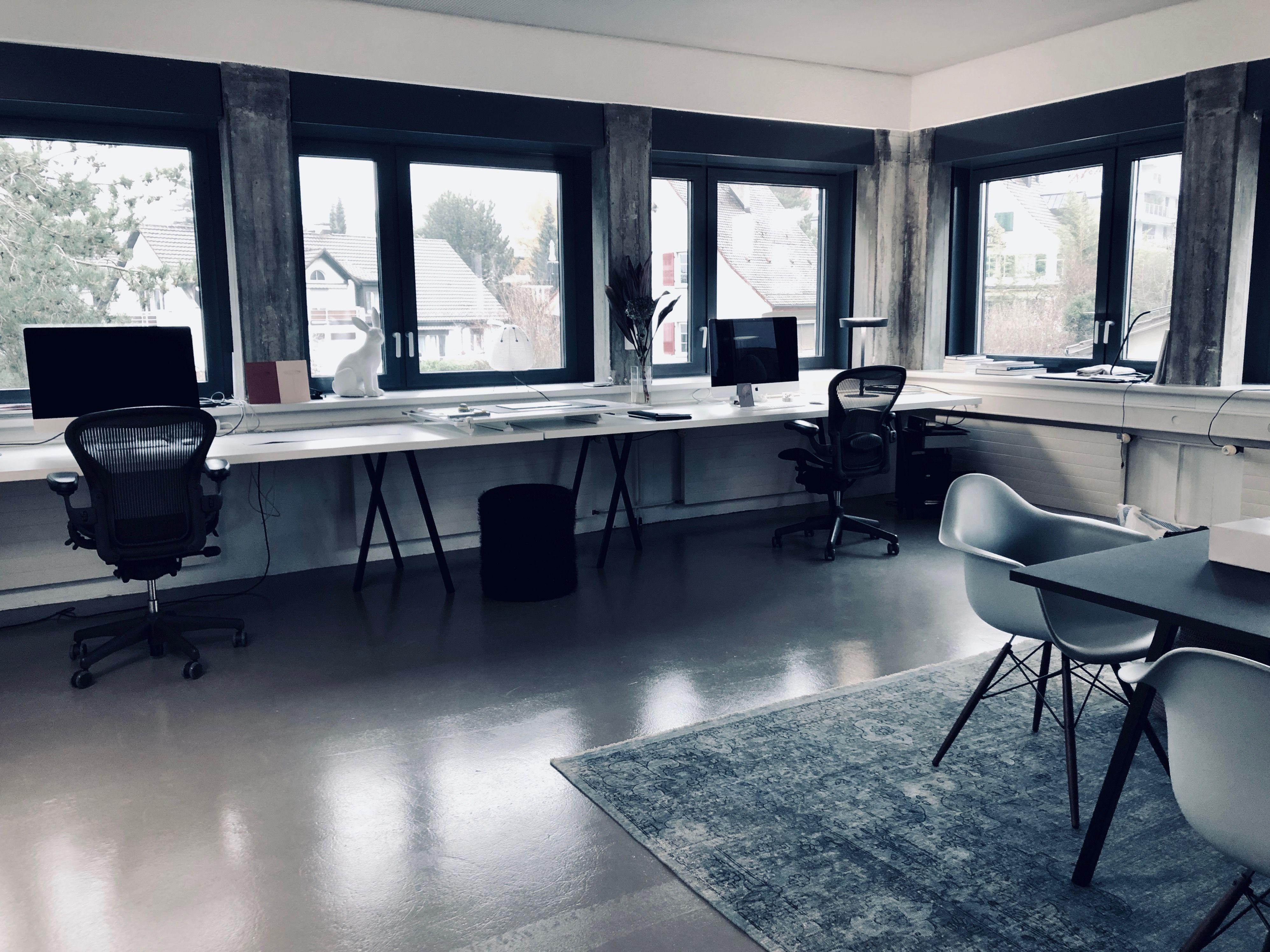inside interior design office zollikon/switzerland