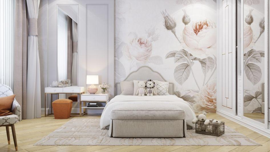 Детские комнаты - Галерея 3ddd.ru | Розовые стены в ...