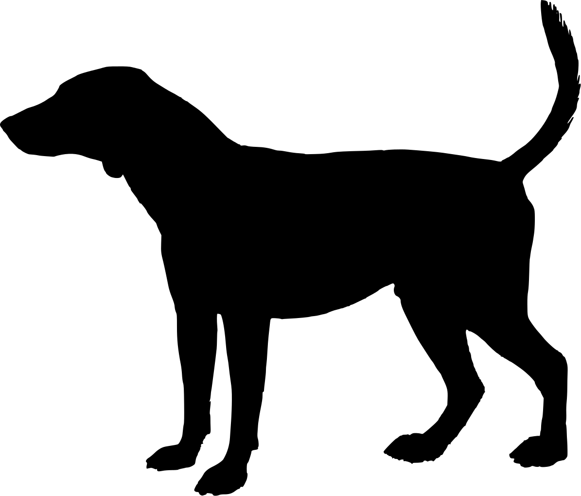 Dog Silhouette How Bout A Plain Ole Mutt Dog Silhouette Dogs Silhouette Png