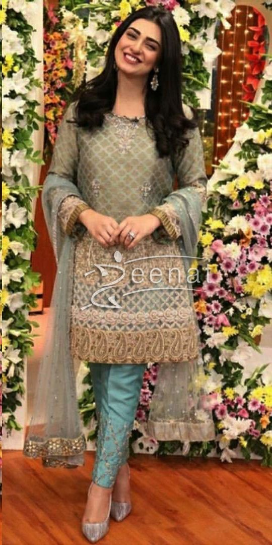 c0057fc6e8 Sarah Khan in Jago Pakistan Jago for HUM TV 12th Anniversary Celebration
