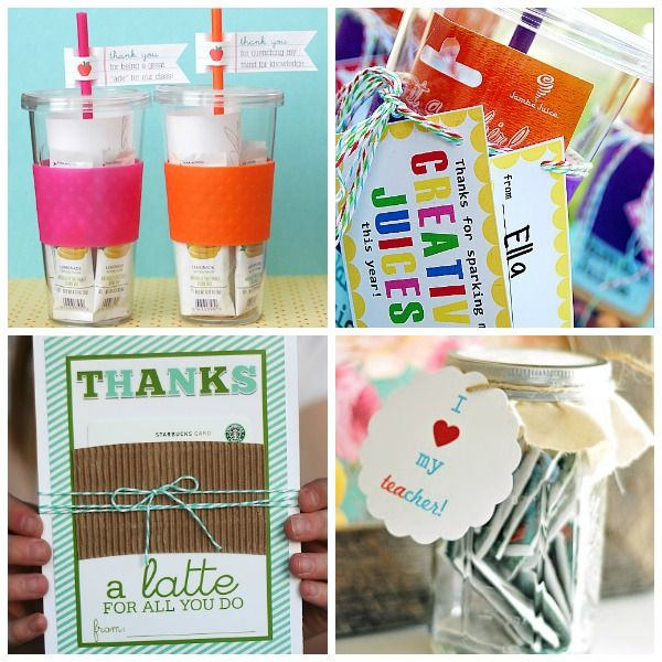 16 Teacher Appreciation Gift Ideas | Appreciation gifts, Teacher ...