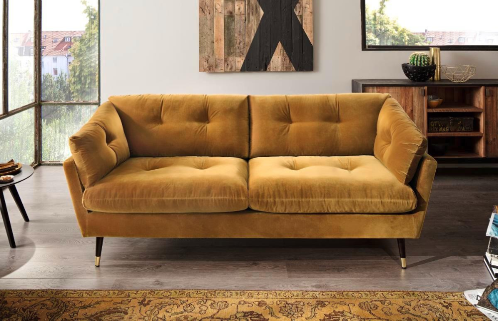 Sofa Japan 2 5 Sitzer Gold Sofa Graues Sofa Sofa Design