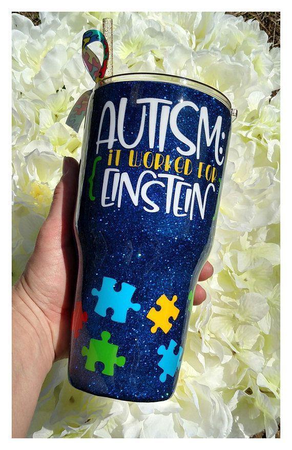 0253cccd543 Autism awareness tumbler autism support autism gift – Artofit
