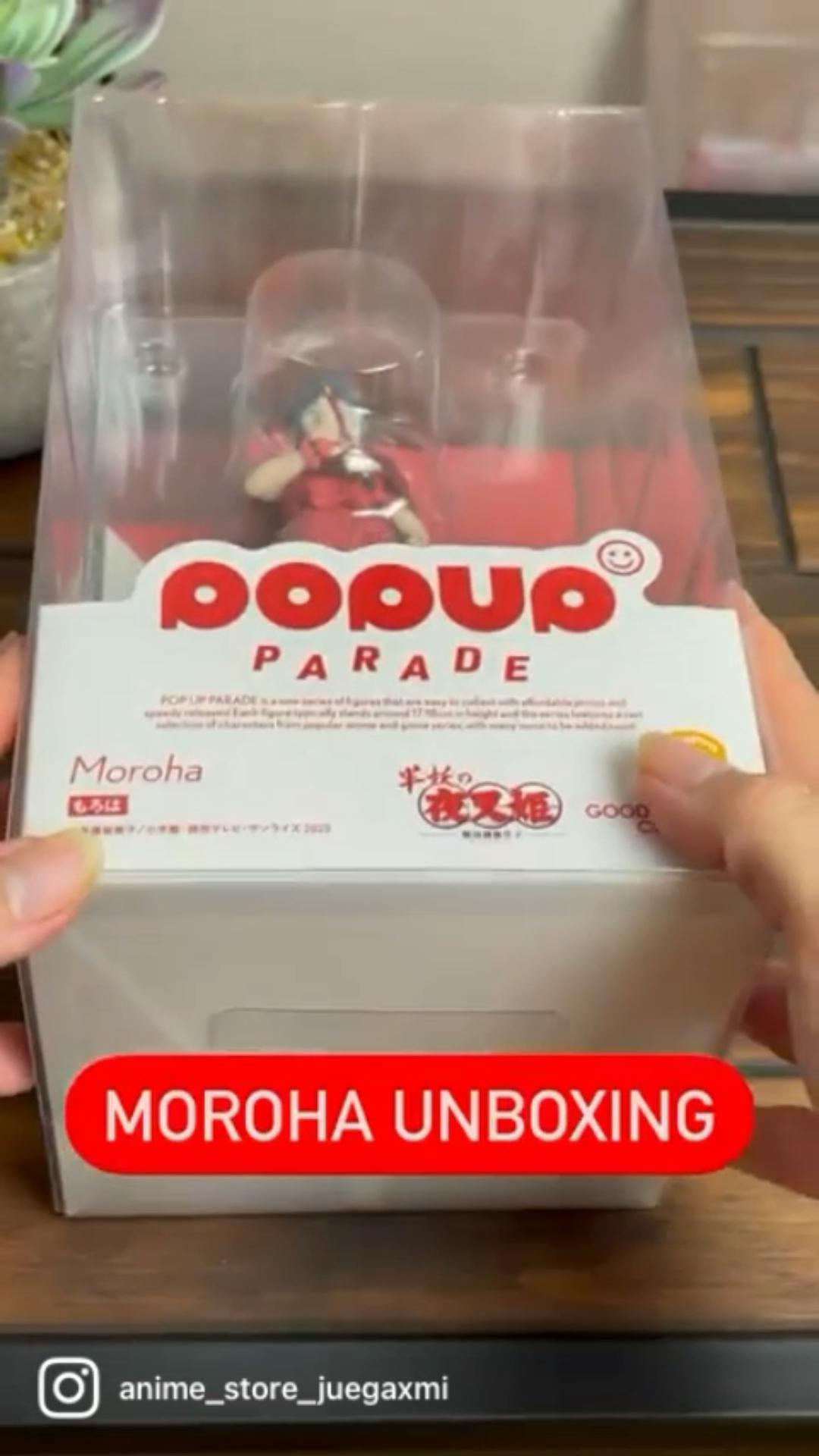 Pop up Parade Amazing MOROHA unboxing