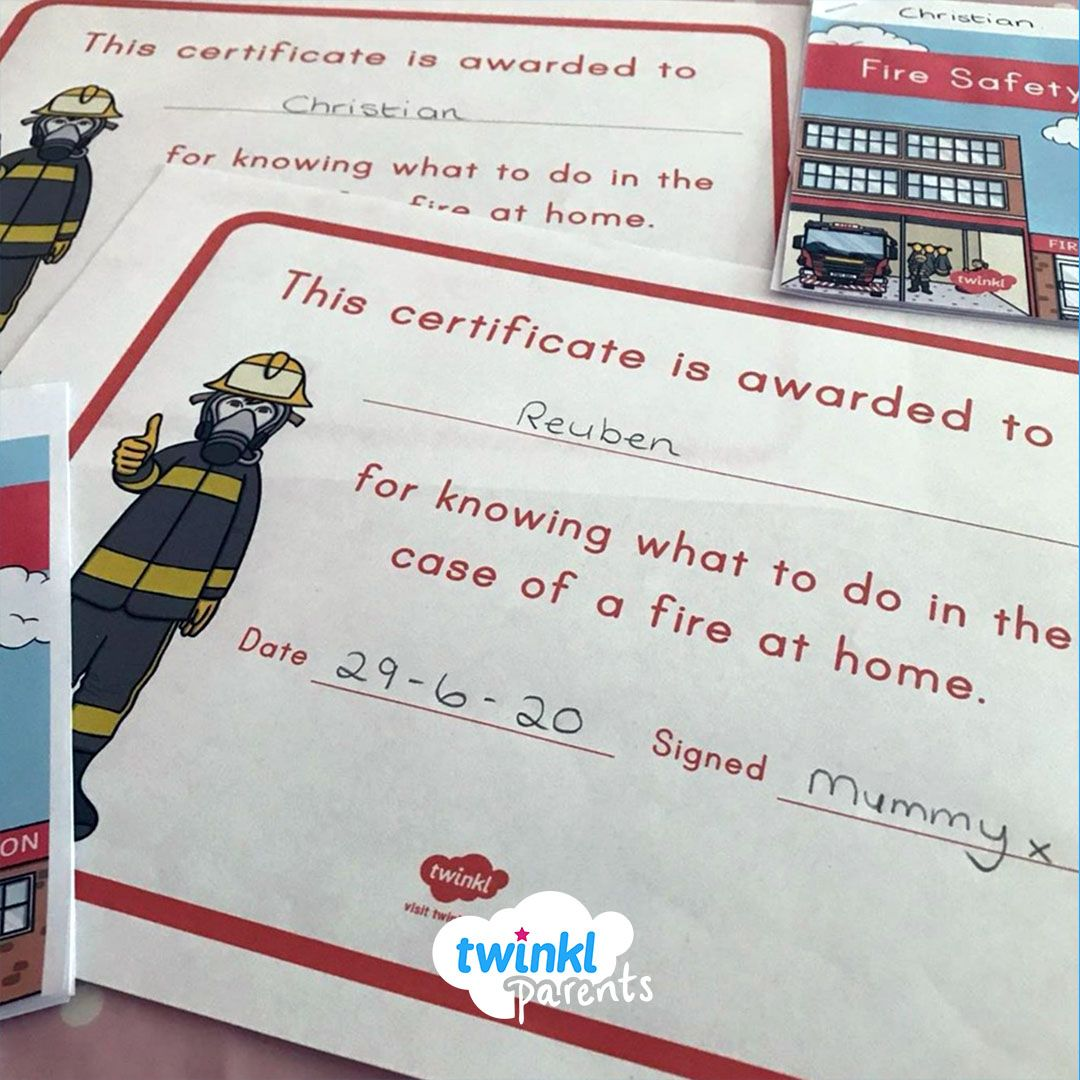 Fire Safety At Home In
