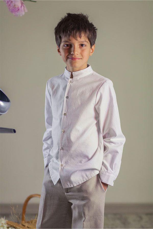 orden replicas gama exclusiva comunion-quemono-camisa-mao   moda para niños   Trajes ...