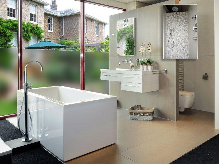 Baños de diseño. 10 ideas por poco dinero | Ventanas para ...