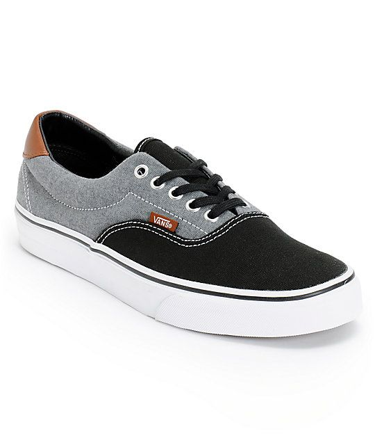 77af4d6c0d Add a two tone look to your kicks collection with the rad Vans Era 59 black