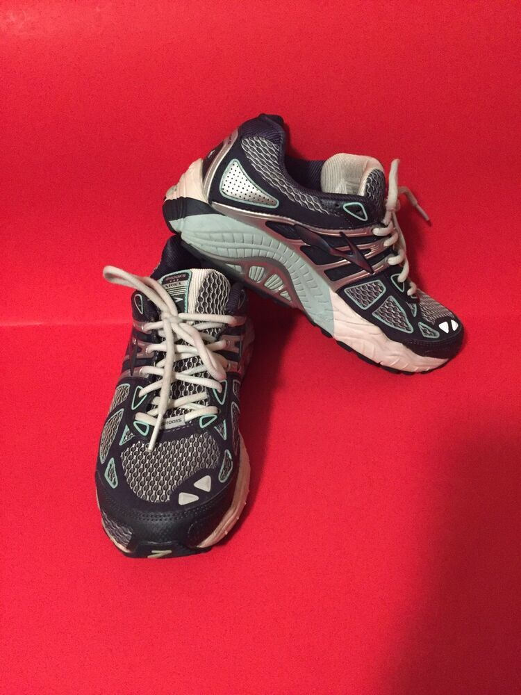 ab1f4e34e8f Women s BROOKS Ariel 14 Running Athletic Shoes Size 9M US Blue Adaptable  Mogo  Brooks  RunningShoes. Find this Pin and more ...