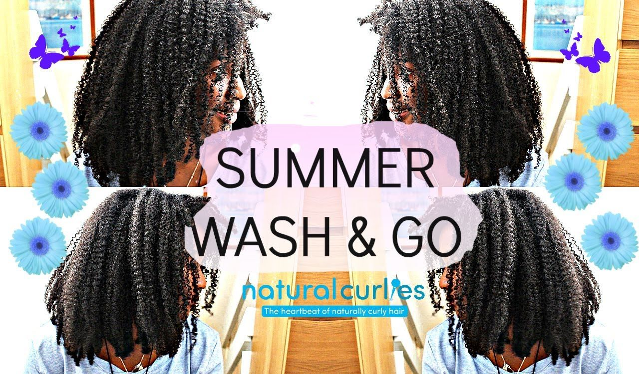 Natural Hair|  Wash & Go Type 4 Hair (Requested)
