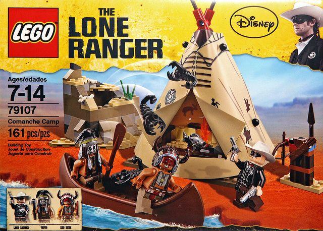 LEGO® The Lone Ranger Comanche Camp 79107