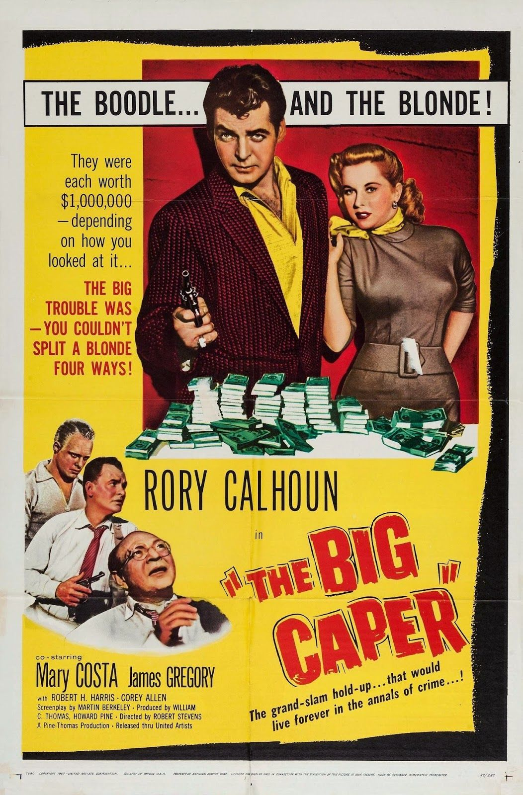 The big caper rory calhoun mary costa james gregory richard h the big caper rory calhoun mary costa james gregory richard h malvernweather Image collections