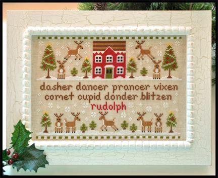 "Country Cottage Needlworks ""Reindeer Games"""