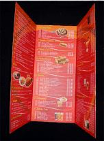 Cardápios com laminação fosca ou brilho - cardápios laminados - spempresas.com
