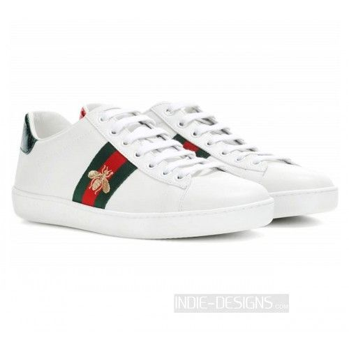 f66cd16ad85 Indie Designs Gucci Inspired Ace Embroidered Low-top Sneakers ...