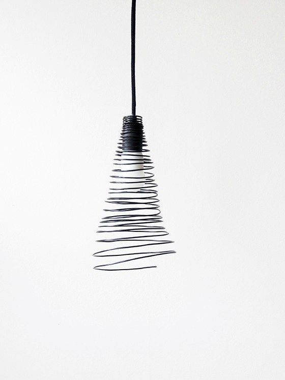 Diy wire lamp shade diy pinterest lampshades and modern diy wire lamp shade greentooth Image collections