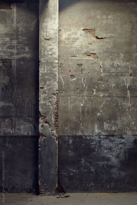 Distressed Stucco Walls Exterior: Old Plaster Wall Of An Interior Building By Miquel Llonch