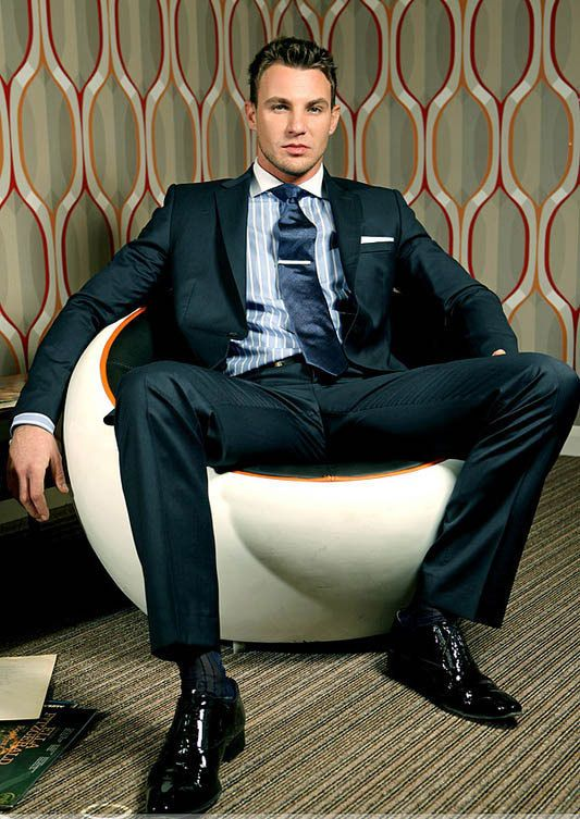 Suits. Ties. Dress Socks. | Men dress, Mens fashion suits ...