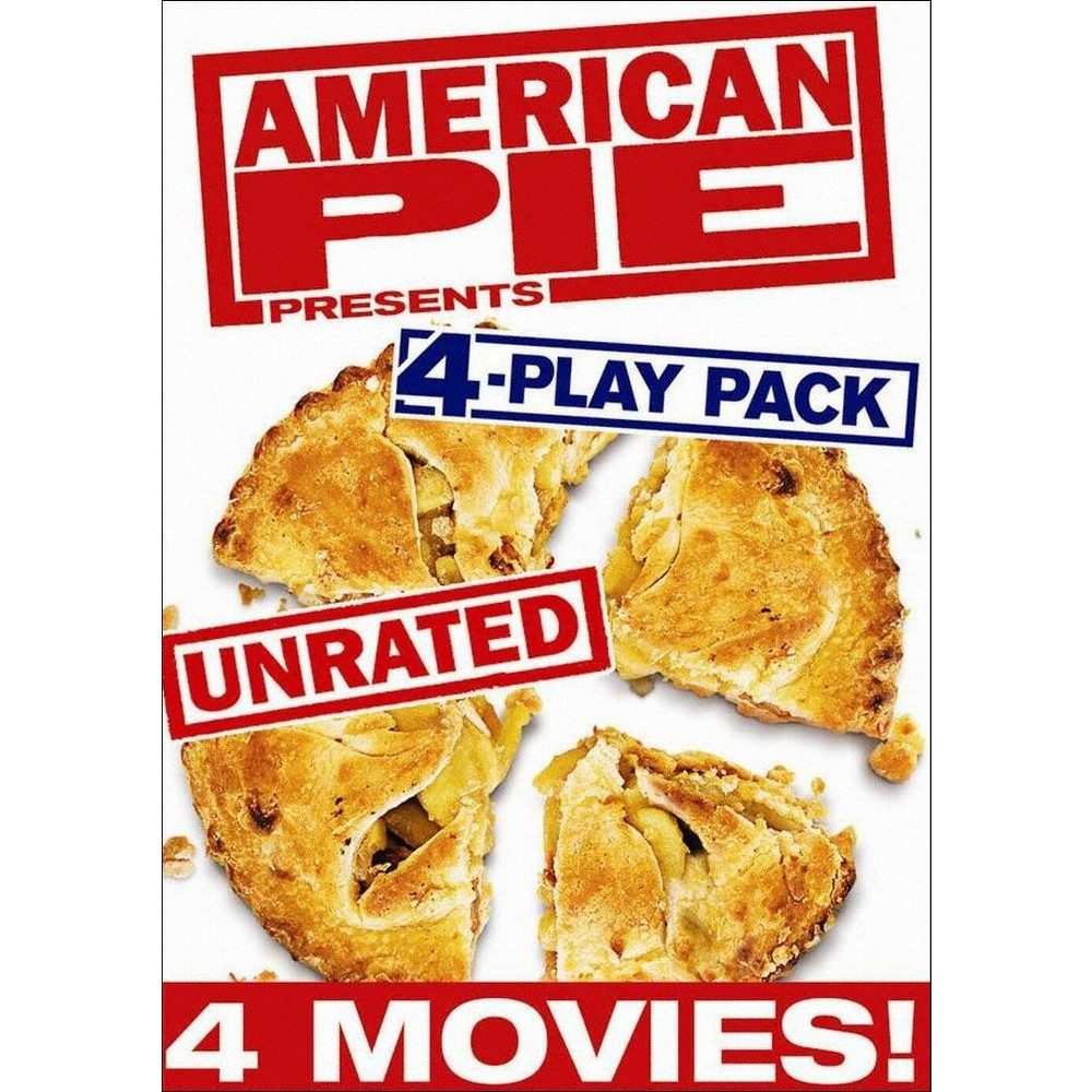 American Pie Presents Unrated 4 Play Dvd American Pie