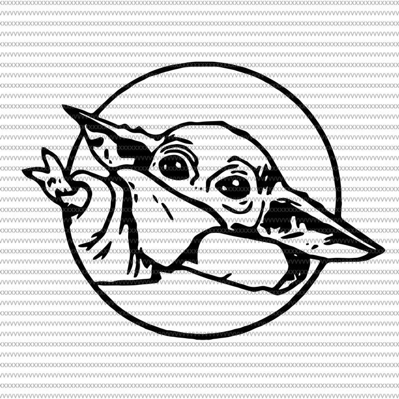 Baby Yoda Svg The Mandalorian The Child Baby Yoda Png Star Wars Svg Png The Child Png Vector T Shirt Design In 2020 Zeichnen Ideen Vorlagen