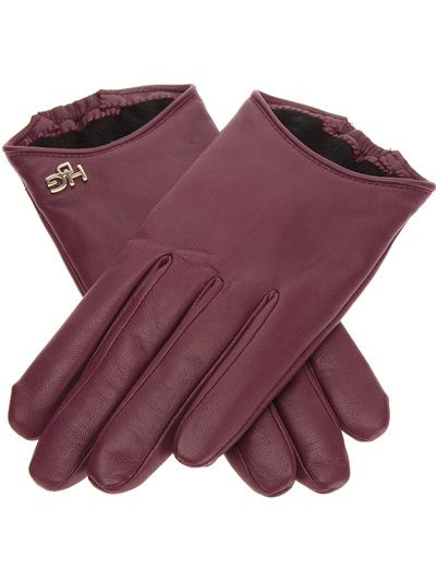 GIVENCHY - leather gloves